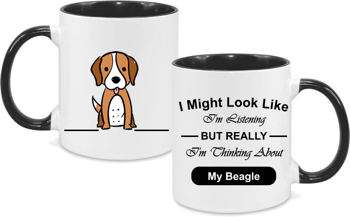 Beagle Full Body with text
