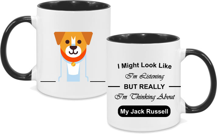 Jack Russel Full Body with text