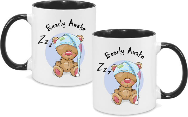 Funny - Bearly Awake A