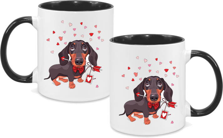 Sausage Dog Valentines Day 2
