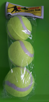 Tennis balls (packet of 3)