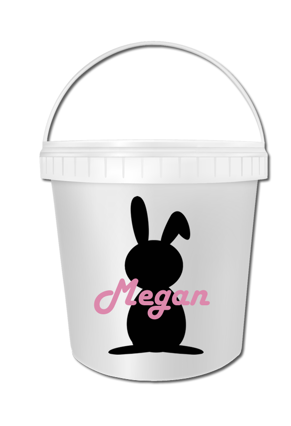 Personalised Easter Bucket (Empty)