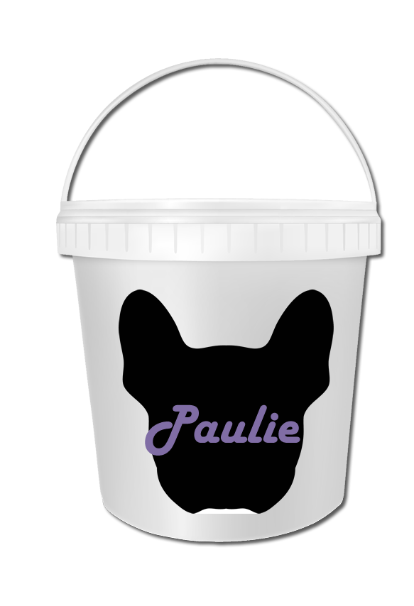French Bulldog Biscuit Bucket 01