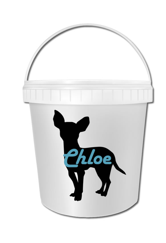 Chihuahua Biscuit Bucket 01