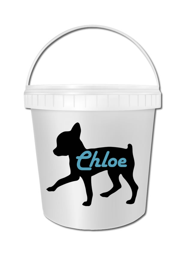 Chihuahua Biscuit Bucket 02